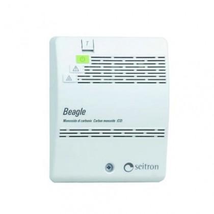TOP DESIGN Opticko-dymový hlásič požiaru 9 V (biely, strieborný)